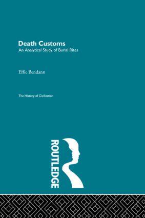 Death Customs book cover
