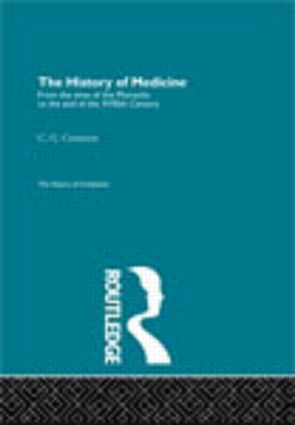 The History of Medicine (Hardback) book cover