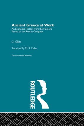Ancient Greece at Work (Hardback) book cover