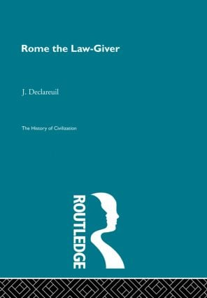 Rome the Law-Giver (Hardback) book cover