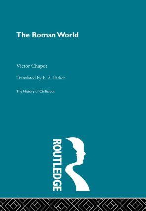 The Roman World (Hardback) book cover