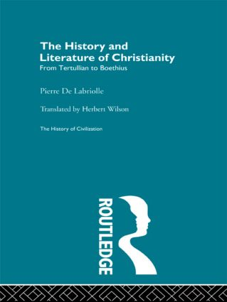 The History and Literature of Christianity (Hardback) book cover