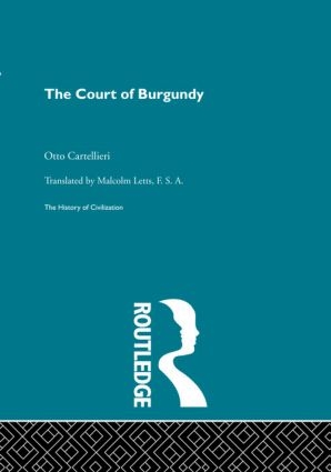 The Court of Burgundy (Hardback) book cover