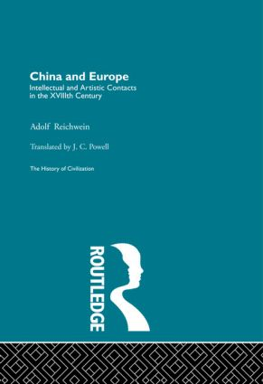 China and Europe (Hardback) book cover