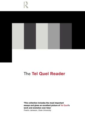 The Tel Quel Reader: 1st Edition (Paperback) book cover