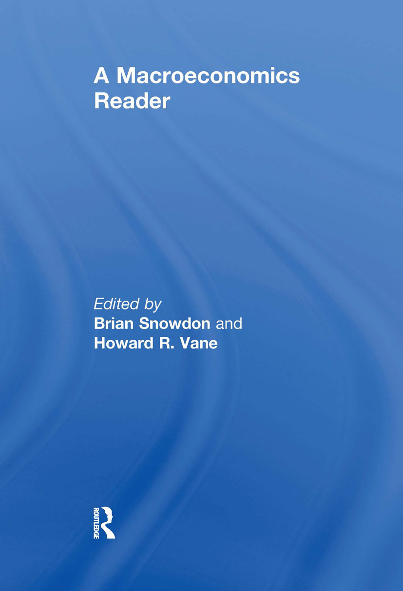 A Macroeconomics Reader: 1st Edition (Paperback) book cover