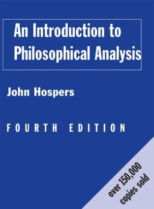 An Introduction to Philosophical Analysis: 4th Edition (Hardback) book cover