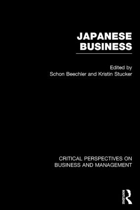 Japanese Business: Critical Perspectives on Business and Management book cover