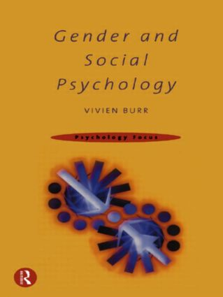 Gender and Social Psychology (Paperback) book cover