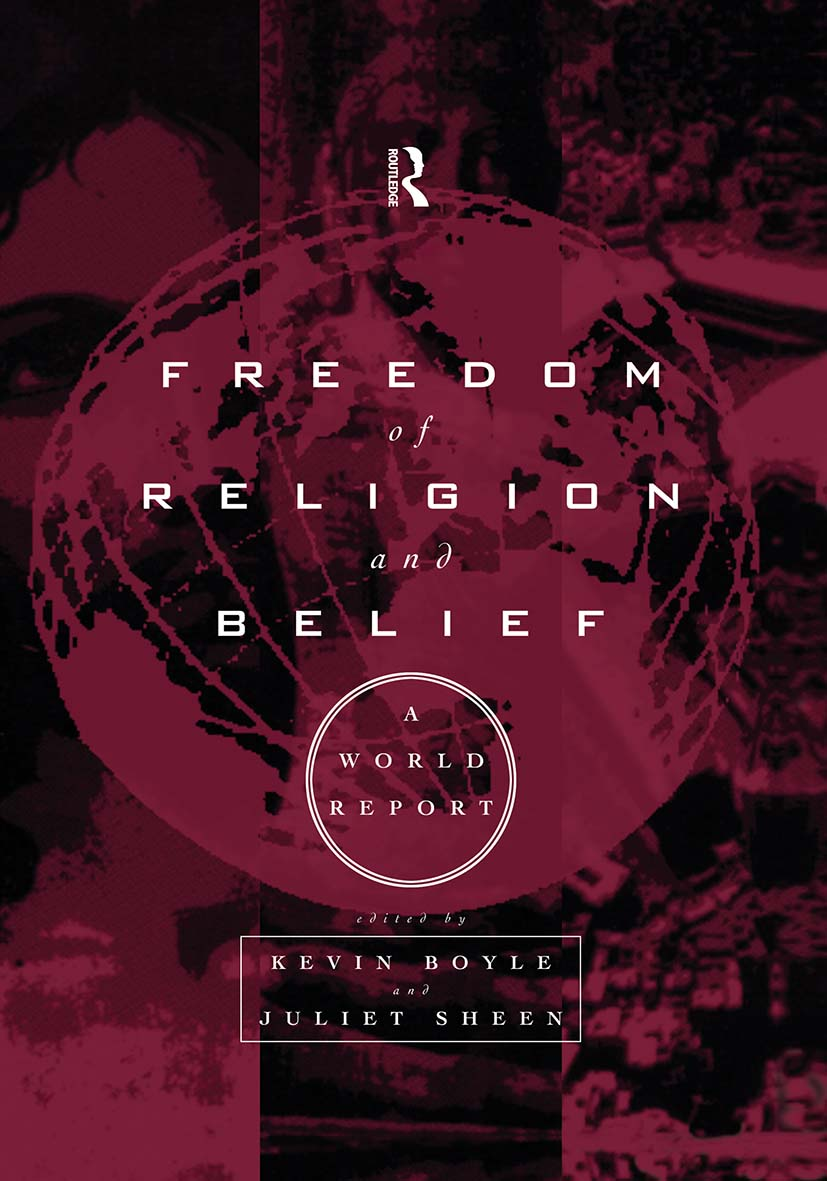 Freedom of Religion and Belief: A World Report: 1st Edition (Paperback) book cover