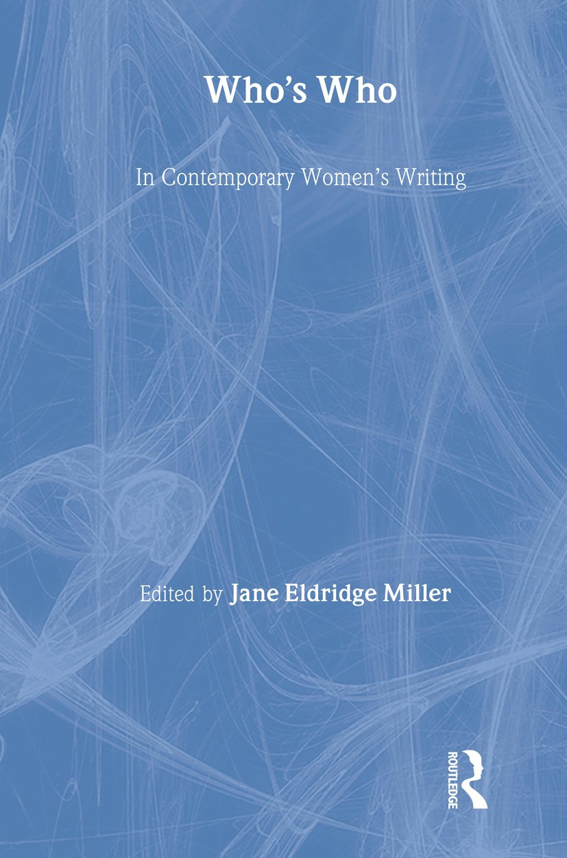 Who's Who in Contemporary Women's Writing book cover