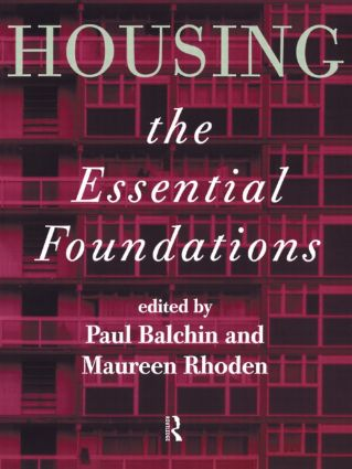 Housing: The Essential Foundations (Paperback) book cover