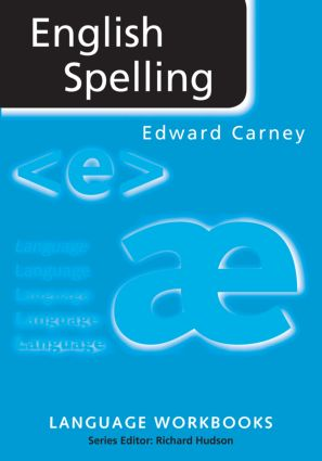 English Spelling: 1st Edition (Paperback) book cover