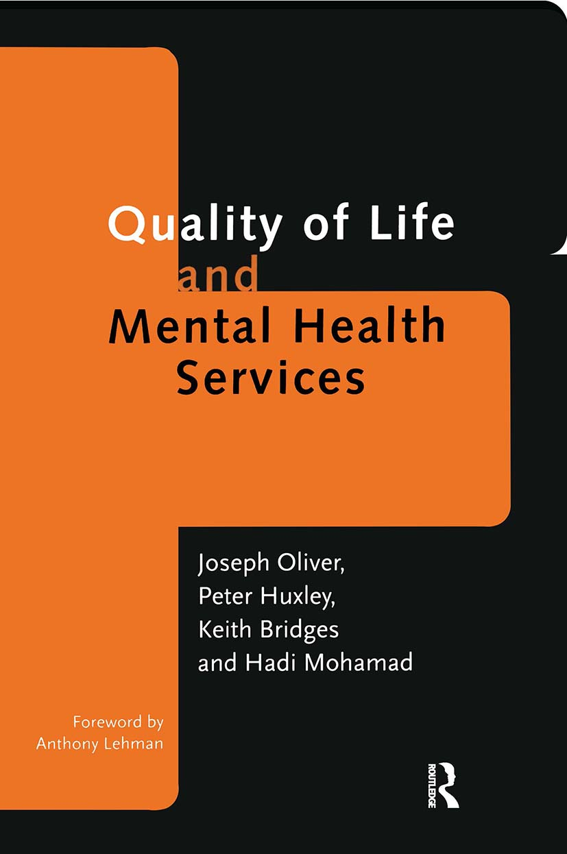 Quality of Life and Mental Health Services