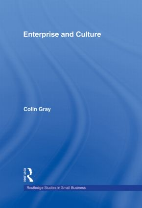 Enterprise and Culture book cover