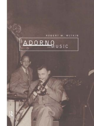 Adorno on Music (Paperback) book cover