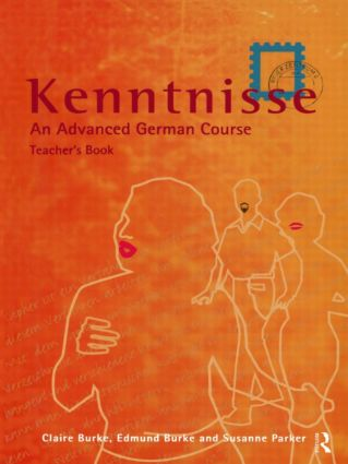 Kenntnisse: Teacher's book, 1st Edition (Paperback) book cover