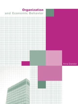 Organization and Economic Behaviour: 1st Edition (Paperback) book cover