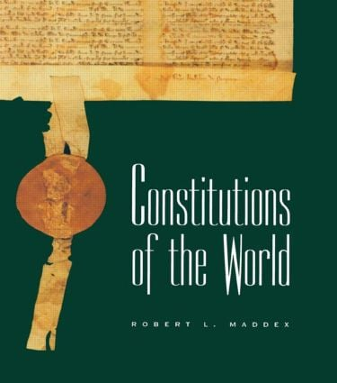 Constitutions of the World: 1st Edition (Hardback) book cover