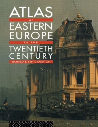 Atlas of Eastern Europe in the Twentieth Century: 1st Edition (Paperback) book cover