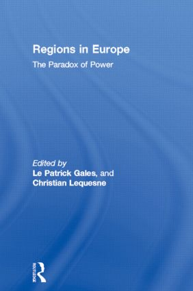 Regions in Europe: The Paradox of Power, 1st Edition (Hardback) book cover