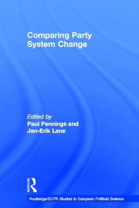 Comparing Party System Change (Hardback) book cover