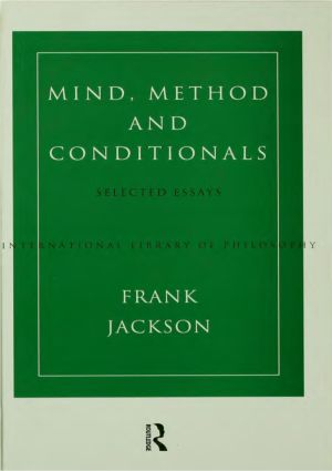Mind, Method and Conditionals: Selected Papers (Hardback) book cover