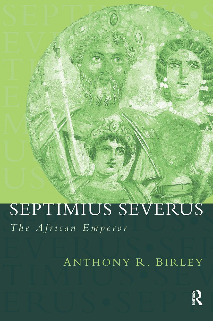 Septimius Severus: The African Emperor book cover
