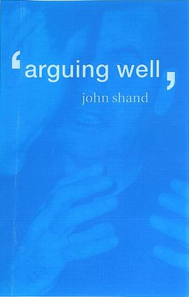 Arguing Well (Paperback) book cover