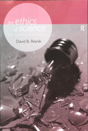 The Ethics of Science: An Introduction (Paperback) book cover