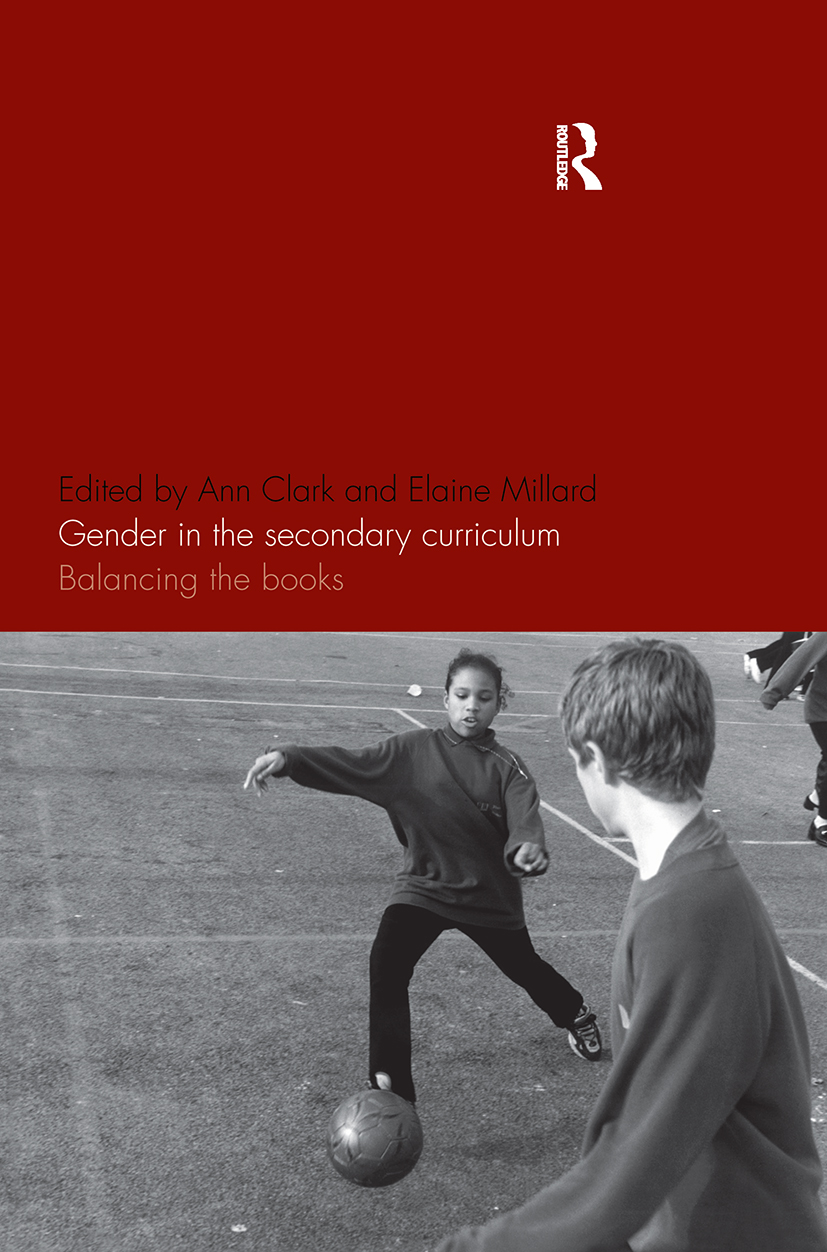 Gender in the Secondary Curriculum: Balancing the Books, 1st Edition (Paperback) book cover