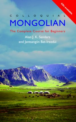 Colloquial Mongolian: The Complete Course for Beginners book cover