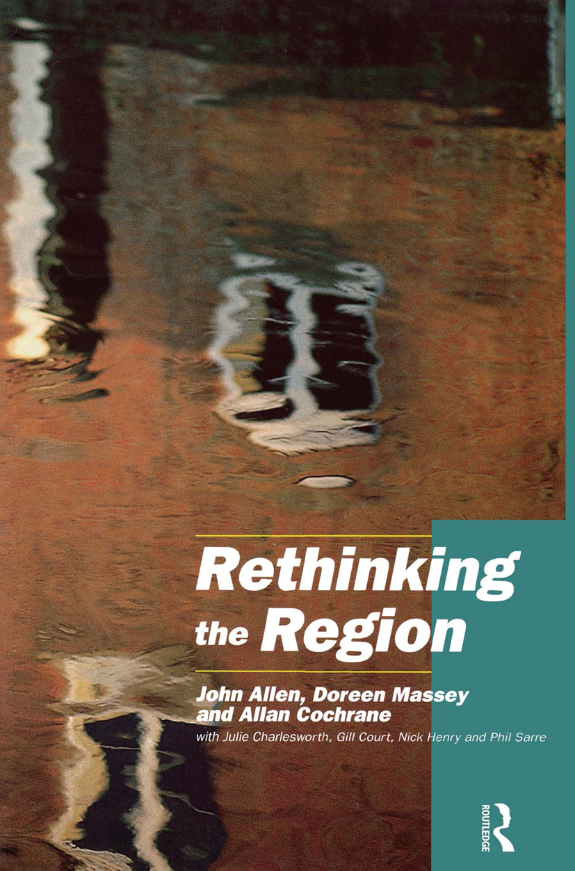 Rethinking the Region: Spaces of Neo-Liberalism, 1st Edition (Paperback) book cover