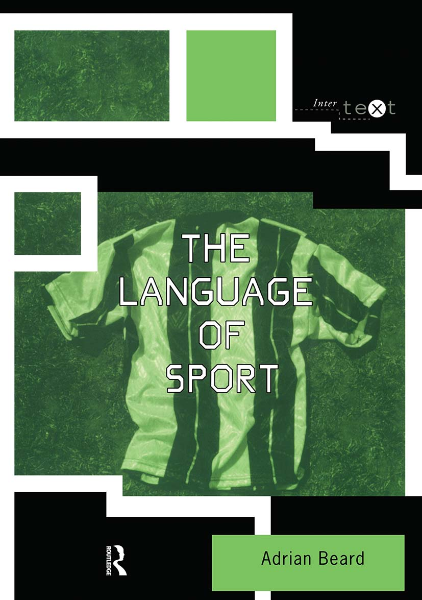 The Language of Sport book cover