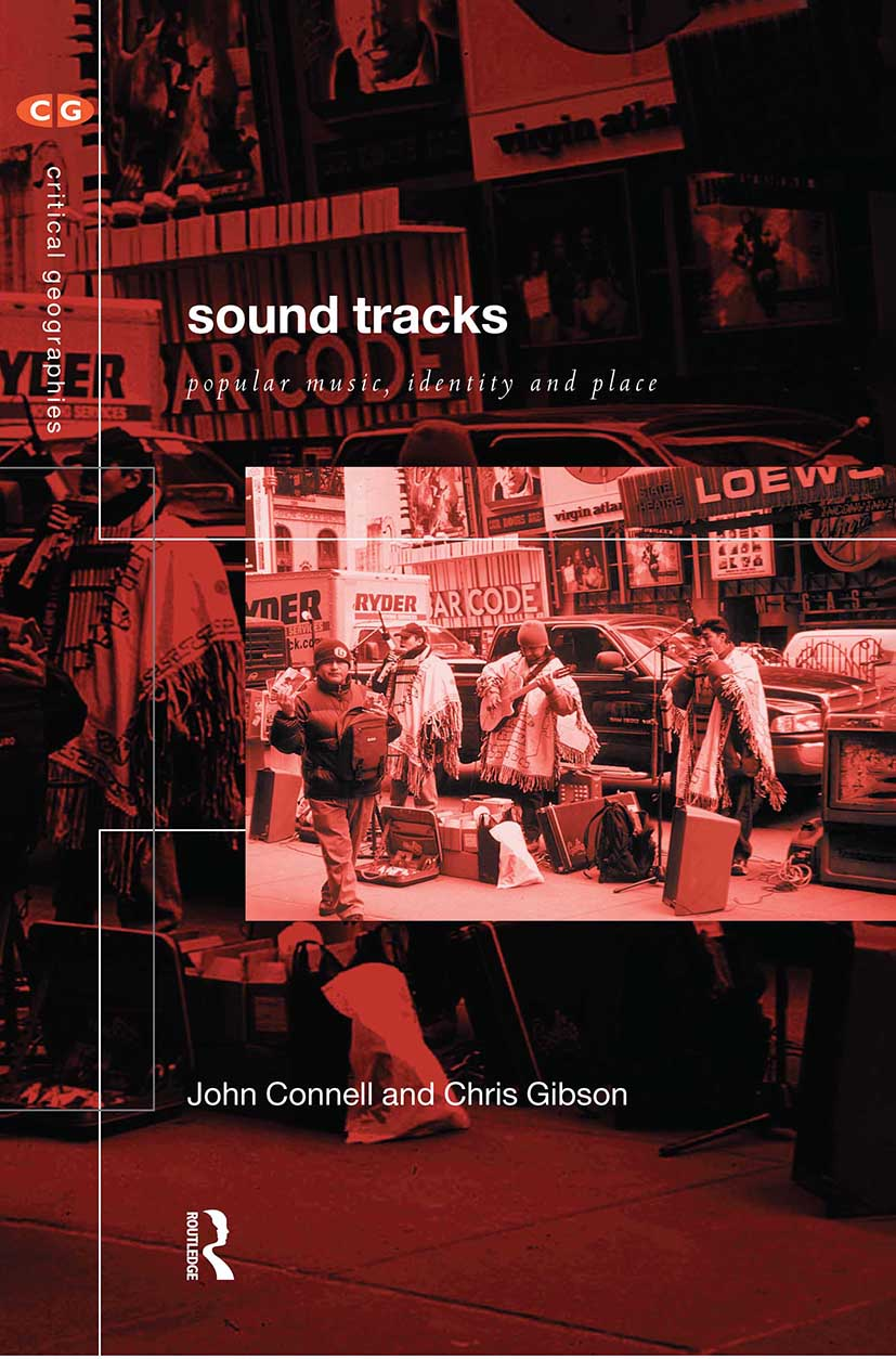 Sound Tracks: Popular Music Identity and Place (Paperback) book cover