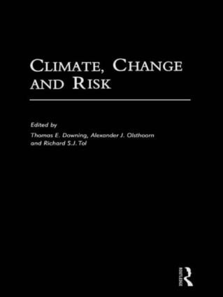 Climate, Change and Risk: 1st Edition (Paperback) book cover