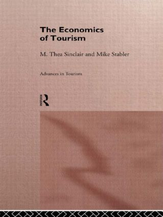 The Economics of Tourism (Paperback) book cover