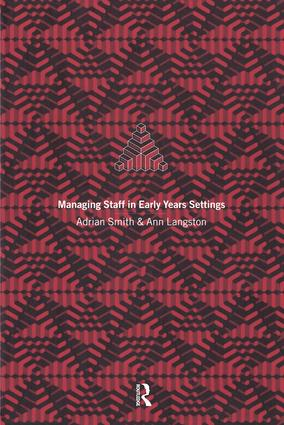 Managing Staff in Early Years Settings (Paperback) book cover