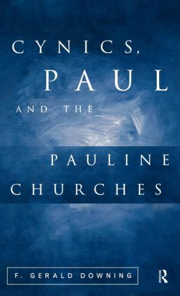 Cynics, Paul and the Pauline Churches book cover