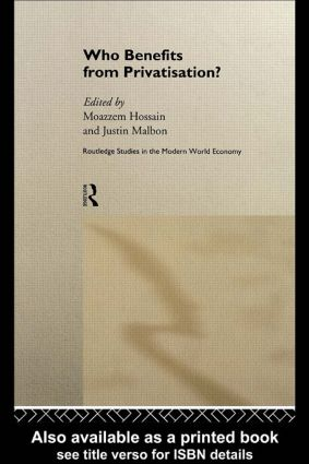 Who Benefits from Privatisation?: 1st Edition (Hardback) book cover