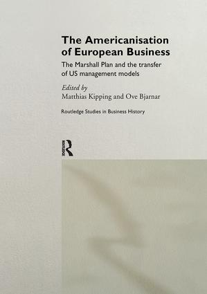 The Americanisation of European Business (Hardback) book cover