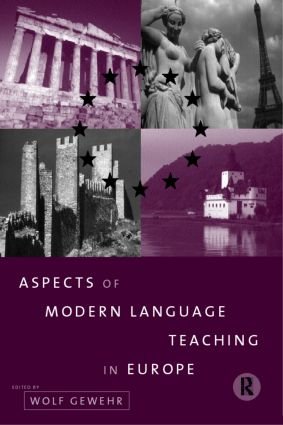 Aspects of Modern Language Teaching in Europe: 1st Edition (Paperback) book cover
