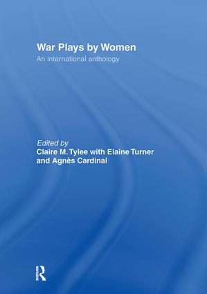 War Plays by Women: An International Anthology book cover