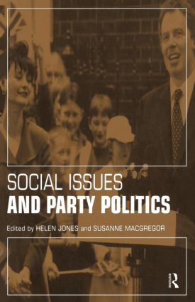 Social Issues and Party Politics (Paperback) book cover