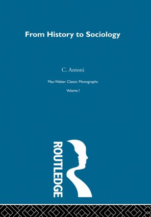 From Hist To Sociology V1: 1st Edition (Hardback) book cover