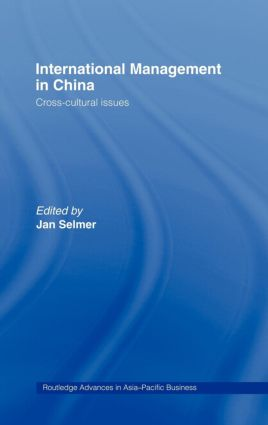 International Management in China: Cross-Cultural Issues (Hardback) book cover