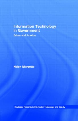 Information Technology in Government: Britain and America book cover