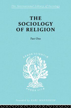 Soc Relign Pt1:Est Relg Ils 79: 1st Edition (Hardback) book cover