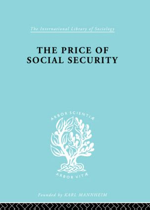 Price Socl Security Ils 187: 1st Edition (Hardback) book cover