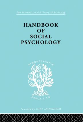 Handbook of Social Psychology book cover